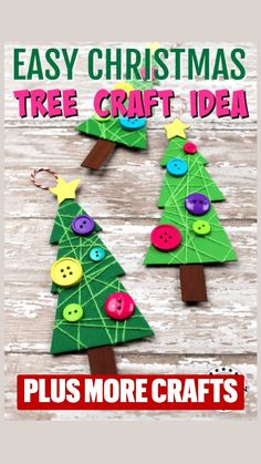 Preschool Christmas Crafts, Christmas Paper Crafts, Holiday Activities, Christmas Projects, Preschool Projects, Holiday Crafts, Simple Christmas, Kids Christmas, Merry Christmas