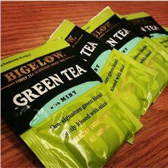 Green tea anyone? #BigelowTea #client