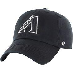 5c017f4a890 Men s Arizona Diamondbacks  47 Black Black Out Franchise Fitted Hat