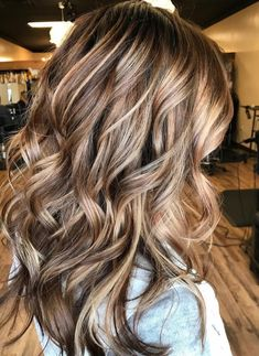 Triple Blends...if I ever decide to go darker again, this is exactly what I want it to look like.