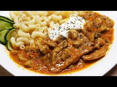 (158) Bakonyi sertésszelet - YouTube Macaroni And Cheese, Food And Drink, Ethnic Recipes, Youtube, Anna, Hungarian Recipes, Mac And Cheese, Youtubers, Youtube Movies