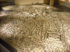 Model of ancient Rome. I used this extensively writing a chapter that took place during the Visitors sack of Rome in 410.