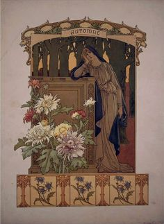 Calendario: Allegoria dell'Autunno