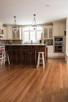 Wide Plank Cherry Floors - Mill Direct