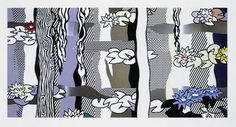Water Lilies with Willows, 1992