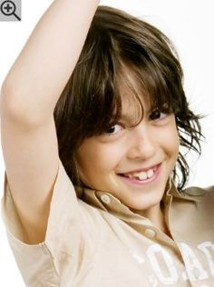 Boys Haircut With Layers And Finger Styling The Bangs Are Razor - Boy haircut razor
