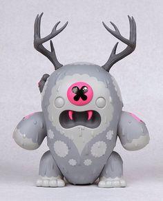 Buff Monster's Web Exclusive 'The Destroyer' - Vinyl Pulse Vinyl Toys, Vinyl Art, Buff Monster, Image 3d, Mascot Design, Toy Rooms, Designer Toys, Dark Fantasy Art, Toys For Girls