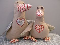 crafts,arts and design inspirations: lucy goose softie tutorial
