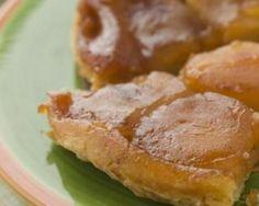Tarte tatin aux pommes et caramel au beurre salé