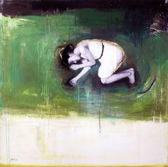 Feeling Sad. Dec 2014.  Peintures | Dominique Fortin - Rhizome IV