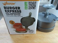 Win a free Weston Burger Press. Click the pic to get the contest details at The Burger Nerd website. Good Luck to all! Organizing Life, Life Organization, Learning Express, Burger Press, Food Articles, Giveaway, Nerd, Website, Kitchen