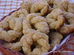 Rosquinha Crocante com Erva doce