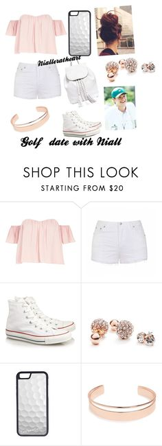 """Golfing with Niall"" by razamaheen-1 on Polyvore featuring River Island, Ally Fashion, Converse, GUESS, Augusta, CellPowerCases, Leith and Rebecca Minkoff"