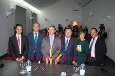 Autoridades asistentes a la inauguración de Semavin 2013