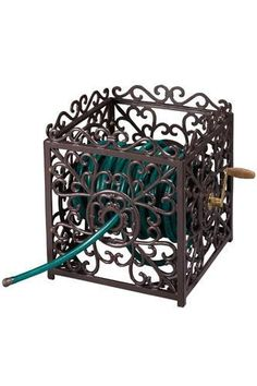 Decorative Garden Hose Stand Garden Hoses Are Messy And Not Easy To Store.  Decorative Stands Allow You Something Pretty Outside While Being Functiou2026