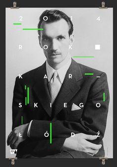 100th Anniversary of the Jan Karski's birth on Behance — Designspiration