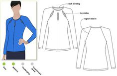 Women's Sewing Pattern Marlo Knit Top Sizes 4 6 8 von StyleArc