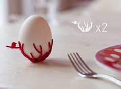 Check out birdsnest eggcups duo by Gijs on Shapeways and discover more 3D printed products in Dining.