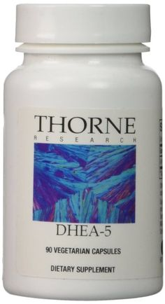 THORNE RESEARCH - Dehydrone-5 (5mg DHEA) - 90ct [Health and Beauty]