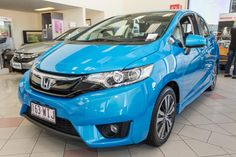 Used Honda Jazz VTi-L 2015 Car for Sale Brisbane - Honda Jazz VTi-L 2015 Used Car for Sale - Book your test drive & buying a used car model Honda Jazz VTi-L 2015 at Keema Cars or Keema Automotive Group. Price: $22888, VIN: MRHGK5870GP020563 & Colour: Vivid Sky Blue. Come and visit our family owned car showroom in Brisbane.