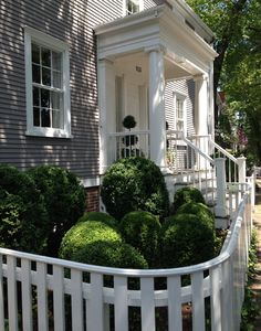 Perfect example of a home on the island of Nantucket. Very small charming and close to your neighbors unless you're above the multi million dollar mark you can have a grand a estate, coastal home.