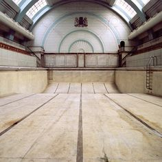 Swimming Pool, empty, absence of water, historical building, listed building, architecture photography, interior hptography, recreation, poo...