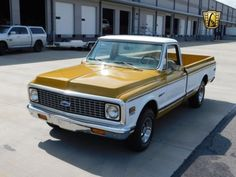 1971 Chevrolet C 10 Pickup Truck. Vintage & Classic Trucks for Sale. 1971 Chevy, Ford Truck and more. Chevy Pickups For Sale, Chevy Trucks For Sale, 67 72 Chevy Truck, Suv Trucks, Lifted Chevy Trucks, Chevy C10, Pickup Trucks, Silverado Truck, Vintage Trucks