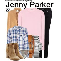 Inspired by Sabrina Carpenter as Jenny Parker in the 2016 TV movie Adventures in Babysitting