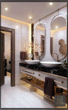 Toilet And Bathroom Design, Restroom Design, Toilet Design, Bathroom Layout, Small Bathroom, Modern Luxury Bathroom, Bathroom Design Luxury, Chic Bathrooms, Dream Bathrooms