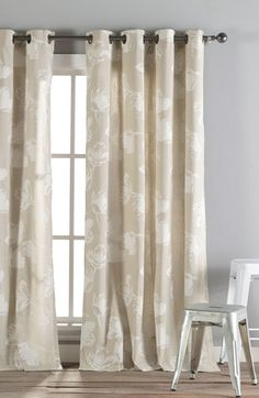 kensie 'Aster' Window Panels available at #Nordstrom