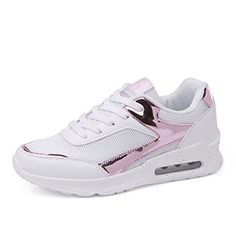 buy online df43f fa67a JEDVOO Femme Basket Mode Chaussure Course Fitness Gym Sport Chaussures Air  Taille 36-40