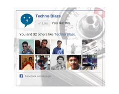 like button it will display fb like button in your web page