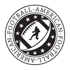 """Style and Apply Football Wall Decal Size: 46"""" H x 46"""" W, Color: Turquoise"""