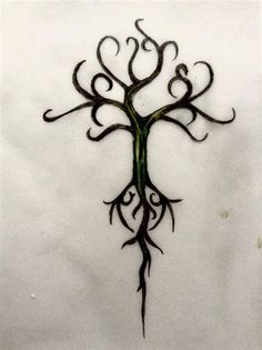 Inspiration for Brianna's Yggdrasil tattoo in #Dragon'sKiss book 2 of the #DragonFate series of #paranormalromances featuring #dragonshifters by #DeborahCooke