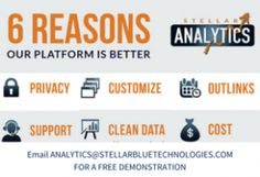 Ever wonder what the benefits are of using Stellar Analytics versus competitors like Google analytics? Read our blog for some reasons on why you should choose Stellar Analytics for your business!