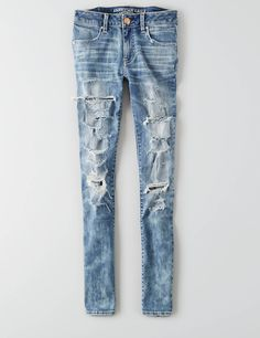 AEO Denim X Jegging Ankle, Super Slash | American Eagle Outfitters