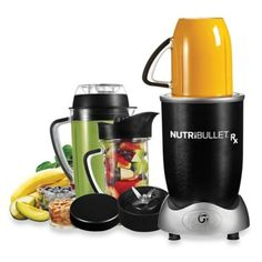 MagicBullet® NutriBullet® Rx Nature's Prescription Superfood Nutrition Extractor in Black - BedBathandBeyond.com