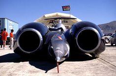 Thrust SSC - Black Rock Desert, Nevada US - 00.09.97 by Colin D Lee, via Flickr