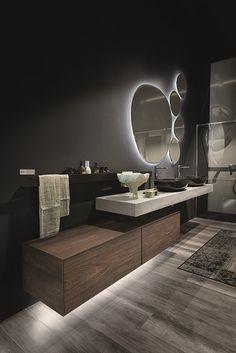 Modern Home Decor Bathroom Timber Bathroom Vanities, Bathroom Furniture, Modern Bathroom, Small Bathroom, Interior Design Classes, Bathroom Interior Design, Aesthetic Room Decor, Luxurious Bedrooms, Beautiful Bathrooms