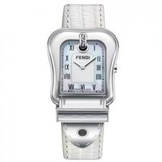 Fendi -  Lizard Leather Watch - Mother of Pearl Dial - 25% off