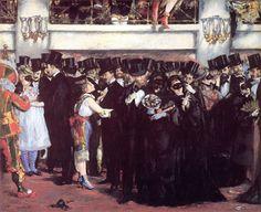 Image result for manet paris opera house