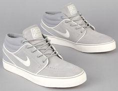 Nike SB | Zoom Stefan Janoski Mid - Medium Grey / Chalk