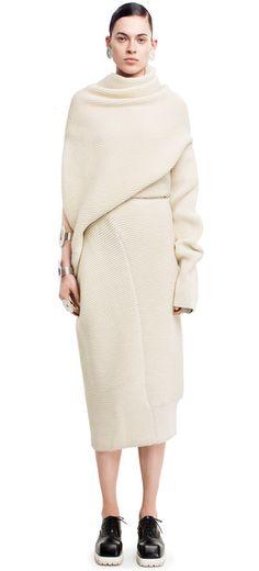 Gala dress white