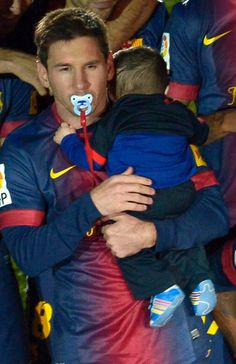 Thiago Messi. I want this kid in my rec team, even if he is not 8 yet.