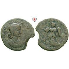 Römische Provinzialprägungen, Kilikien, Seleukeia am Kalykadnos, Otacilia Severa, Frau Philippus I., Bronze, s+: Kilikien, Seleukeia… #coins