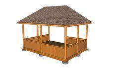 Gazebo Roof Plans   MyOutdoorPlans   Free Woodworking Plans and ...