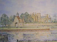 Art of Alan Stuttle - Beaulieu Palace House