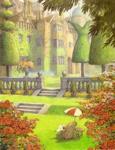 Wind in the Willows illustration by Inga Moore