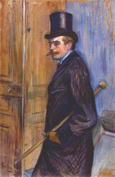 Monsieur Louis Pascal - Henri de Toulouse-Lautrec, 1891
