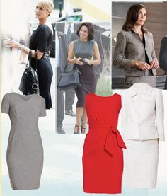 Power Dressing 101: Study These 3 As-Seen-on-TV Looks